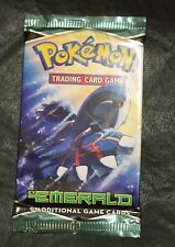 Pokemon TCG Booster Pack Ex  Emerald 9 Additional Game Cards New 2005