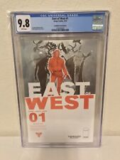 East of West #1 CGC 9.8 NM+/M Forbidden Planet variant Image Comics 2013 white