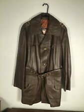Vintage MIGHTY MAC Out O' Gloucester Brown Leather Jacket