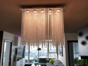 LED Ceiling Lamp Crystal Chandelier Dining Room Pendant Light Luxury Light lamp