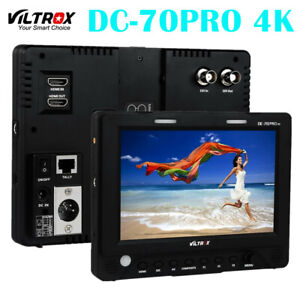 Viltrox DC-70PRO 4K Camera Monitor 7'' on Camera DSLR IPS SDI/HDMI/AV 1920x1200