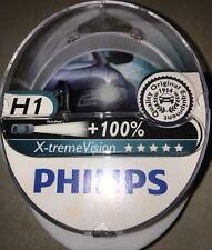 H1 Xtreme Vision X Treme Vision Coche Headlight Bulbs Bombillas Philips H1 Bombillas Par