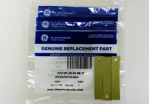 DR873 3 PAK of WE3X87 Genuine GE Dryer Drum Bearing Slides Glides