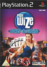 PLAYWIZE POKER AND CASINO for Playstation 2 PS2 - PAL