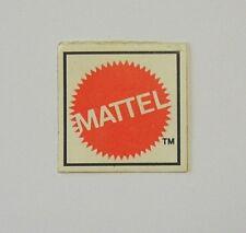 VECCHIO ADESIVO ORIGINALE / Old Sticker Autocollant MATTEL (cm 2,5 x 2,5)