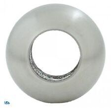 Edelstahl Massivkugel 25 mm drehblank mit Durchgangsbohrung 12,2 mm