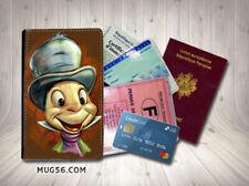 jiminy cricket pinocchi #4 protège carte grise permis passeport passport holder