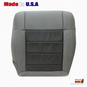 2007 2008 2009 2010 Jeep Wrangler Driver Side Bottom Cloth Seat Cover Color Gray