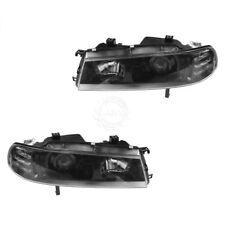 Headlight Black Bezel Performance Projector Style Pair for 92-96 Honda Prelude