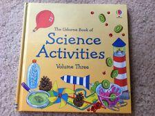 Usborne Book of Science Activities Volume III