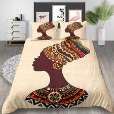3D Indian Women Print Bedding Set Duvet Cover with Pillowcase Us Twin 2Pcs