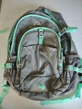 Ozark Trail Yakutat hiking backpack, used once. Gray with teal trim.
