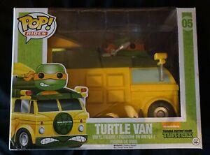 Funko Pop Rides Turtle Van Teenage Mutant Ninja Turtles Michelangelo Nickelodeon