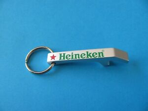 HEINEKEN Beer Key Ring & Bottle Opener. Note Read Description. !!