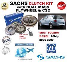 POUR SEAT TOLEDO 2.0 TDi 170 BHP SACHS KIT EMBRAYAGE 06-09 w. VOLANT MOTEUR