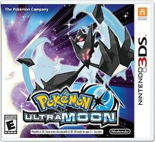 POKEMON ULTRA MOON - NINTENDO 3DS In Stock NEW