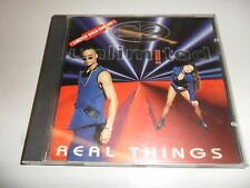 CD  2 Unlimited - Real Things Lim. Gold Edition