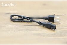 5X I-SHENG 0.5M/1.6Ft  E55943 7A 125V 2 Prong Figure 8 Power Cable Cord