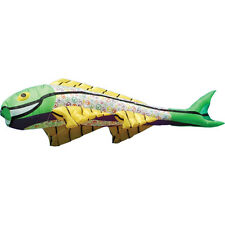 Kite Giant Peace Signs Covered Colorful Flying Fish Kite..410........ PR 12809