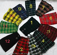 Scottish Traditional Kilts In Twelve 12 Tartans Choose AnyOne You like