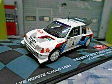 PEUGEOT 205 T16 EVO 2 Rallye Monte Carlo #4 Kankkunen 1986 IXO Altaya 1:43