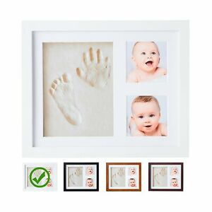 Baby Handprint Kit  NO Mold  Baby Picture Frame, Baby Footprint kit, Perfect ...