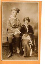 Real Photo Postcard RPPC - King & Queen Old Home Week Ebert Studio Scranton PA
