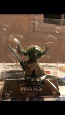 Disneyland Paris Star Wars Stitch Yoda Bobble Head Rara