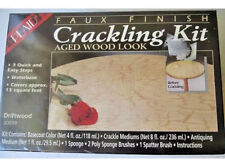 Faux Paint Kit DIY Antique Crackling Painting Crafting