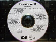 FRESHVIDS VOL 14 MUSIC VIDEO DVD CHAINSMOKERS PANIC! AT THE DISCO SIA KIIARA AJR