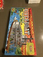 Retro Limited Time Re- Release Walt Disneyland Riverboat Game New Sealed