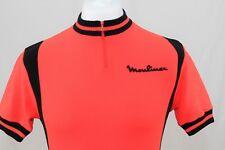 Clásicos Años 70 Acrílico Maillot de ciclismo naranja FRANCIA TALLA S 326 P