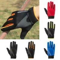 1Pair Winter Sports Neoprene Windproof Waterproof Ski Screen Thermal Gloves AU
