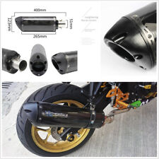 2''/51mm Inlet Inner Diameter Real Carbon Fiber Motorcycle ATV Exhaust Tail Pipe