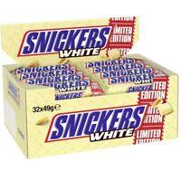 32x Snickers White Riegel á 49g=1568g MHD:11/20