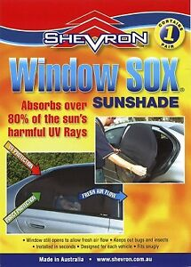 Window Sox To Suit Suzuki SX4 Hatch From 2006 to August 2013
