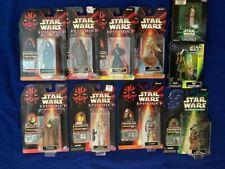 Vintage Star Wars Figurines, Episode 1 plus others