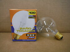 Feit Bath & Vanity Bulb 100 Watt 120V Clear 100G25