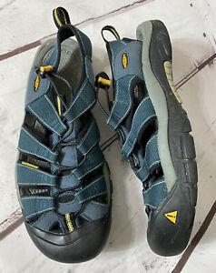 Keen Men's Sport Sandal Shoes Blue Size 11.5 US