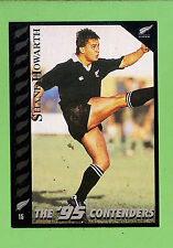 1995 NEW ZEALAND  ALL BLACKS RUGBY UNION CARD  #15  SHANE  HOWARTH