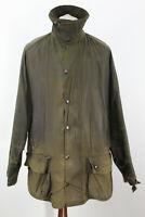 BARBOUR Classic Beaufort Olive Wax Jacket size C46/117Cm