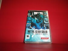 METAL GEAR SOLID DIGITAL GRAPHIC NOVEL PS1 PS2 PS3 PSP CON ITALIANO COLLEZIONE