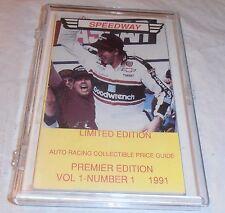 VINTAGE 1991 DALE EARNHARDT SR. COVER SPEEDWAY PRICE GUIDE MAGAZINE NASCAR