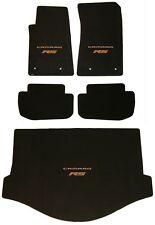 LLOYD MATS Ultimat 5PC FLOOR MAT SET 2011 to 2015 ORANGE Camaro RS *CONVERTIBLE*
