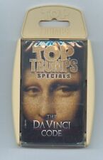 The DaVinci Code Top Trumps Playing Cards  Sealed Deck
