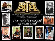 Alpha Phi Alpha - US Postage Stamp Historical Print