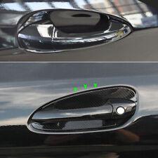Exterior Carbon Door Handle Bowl Cover for Mercedes C E GLK CLA Class W212 117