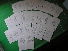 More details for barnsley fc set of 30 signed 2013/2014 season index cards steele o'brien etc