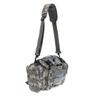 Tackle Case Adjustable Strap Waist Pack Shoulder Bag Fishing Hiking ACU