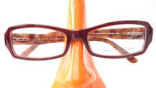 Ralph Lauren occhiali telaio Designer Marrone In Plastica Da Donna Sottile frame size M.